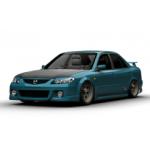 Подогрев сидений Мазда Фамилиа - Mazda Familia
